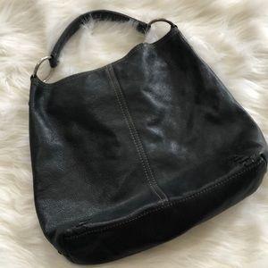 Lucky brand Black leather hobo bag